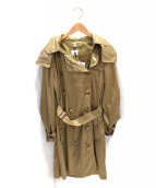 BURBERRY(バーバリー)の古着「ナイロントレンチコート」|ベージュ