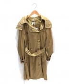 BURBERRY()の古着「ナイロントレンチコート」|ベージュ