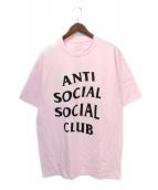 ANTI SOCIAL SOCIAL CLUB(アンチソーシャルソーシャルクラブ)の古着「Tシャツ」|ピンク