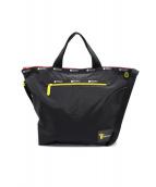 LeSportsac(レスポートサック)の古着「2WAYバッグ」|ブラック