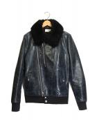 kiit(キート)の古着「ライダースジャケット」|ブラック
