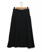 ELENDEEK(エレンディーク)の古着「サイドプリーツスカート」|ブラック