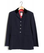 HERMES(エルメス)の古着「[OLD]テーラードジャケット」|ネイビー