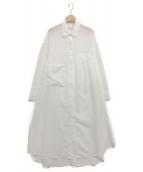 UN3D.(アンスリード)の古着「エアリーロングシャツ」|ホワイト