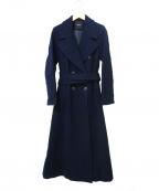 DRWCYS(ドロシーズ)の古着「ビックカラーロングコート」|ネイビー