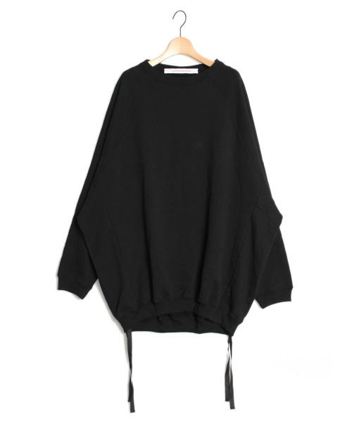 COGTHEBIGSMOKE(コグザビックスモーク)COGTHEBIGSMOKE (コグザビックスモーク) オーバースウェット ブラック サイズ:-の古着・服飾アイテム