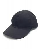 PRADA(プラダ)の古着「6パネルナイロンキャップ」|ブラック