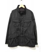 PEUTEREY(ビューテリ)の古着「M65タイプナイロンジャケット」|ブラック