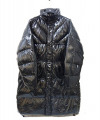 AHIrAIN(アーリーン)の古着「ビッグシルエットダウンコート」 ブラック