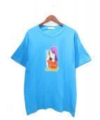 FLAGSTUFF(フラッグスタッフ)の古着「Tシャツ」|ブルー
