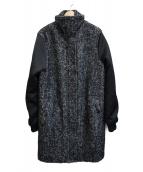 BY MALENE BIRGER(バイマレーネビルガー)の古着「切替スタンドカラーコート」|ブラック