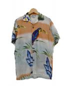Ocean Pacific(オーシャンパシフィック)の古着「70`S レーヨンアロハシャツ」|マルチカラー