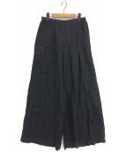 eskandar(エスカンダー)の古着「ワイドパンツ」|ブラック