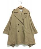ETRE TOKYO(エトレトウキョウ)の古着「テントコート」 ベージュ