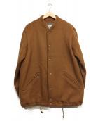 jackman(ジャックマン)の古着「アワードジャケット」|ブラウン