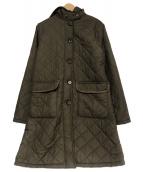 MACKINTOSH(マッキントッシュ)の古着「キルティングコート」|オリーブ