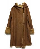 ROSSO(ロッソ)の古着「Fムートンコート」|ブラウン