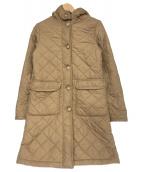 MACKINTOSH(マッキントッシュ)の古着「キルティングコート」|ブラウン