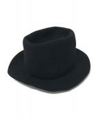 MADISON BLUE×LOLA Hats(マディソンブルー×ローラハッツ)の古着「レンジャーハット」|ブラック