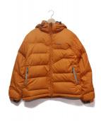 AIGLE(エーグル)の古着「ACTIMUMダウンジャケット」|オレンジ