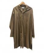 MARKA(マーカ)の古着「シャツコート」|ブラウン