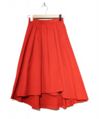 DRESSTERIOR(ドレステリア)の古着「メモリーツイルスカート」|レッド