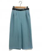 TOGA(トーガ)の古着「テープスカート」|スカイブルー