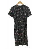 YOUNG & OLSEN The DRYGOODS STORE(ヤングアンドオルセン)の古着「フラワーフィールドドレス」|ネイビー