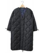 MADISON BLUE(マディソンブルー)の古着「キルティングコート」|ブラック