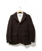 YAECA(ヤエカ)の古着「ウール3Bテーラードジャケット」|ブラウン