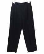 BALLSEY(ボールジィ)の古着「テーパードマリンパンツ」|ブラック