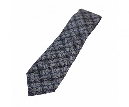 GUCCI(グッチ)GUCCI (グッチ) GG ネクタイ ネイビー サイズ:-の古着・服飾アイテム