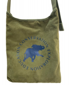 HUNTING WORLD(ハンティングワールド)の古着「ショルダーバッグ」|カーキ