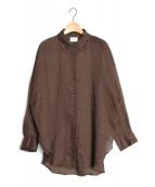 Lisiere(リジェール)の古着「LAMIEシャツ」|ブラウン