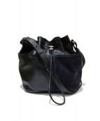 Repetto(レペット)の古着「巾着ショルダーバッグ」|ブラック
