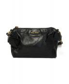 MIU MIU(ミュウミュウ)の古着「サイドリボンハンドバッグ」|ブラック