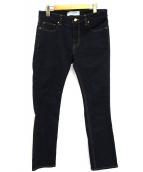 Deuxieme Classe(ドゥーズィエムクラス)の古着「ジャストフィットデニムパンツ」 インディゴ