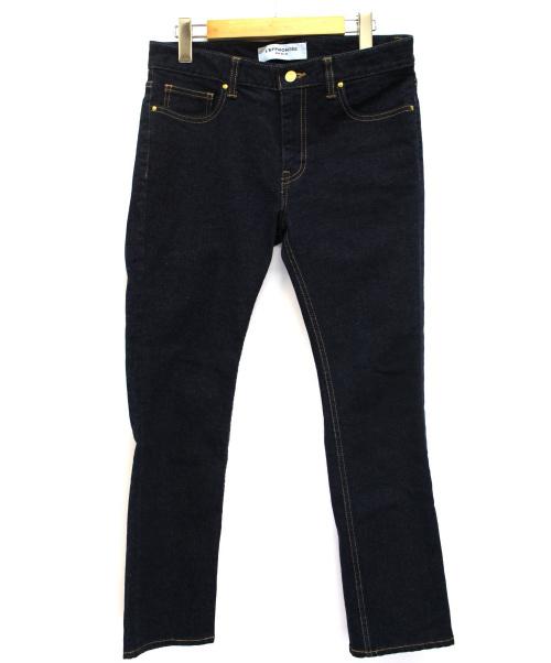 DEUXIEME CLASSE(ドゥーズィエム クラス)Deuxieme Classe (ドゥーズィエムクラス) ジャストフィットデニムパンツ インディゴ サイズ:38の古着・服飾アイテム