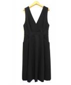 ESTNATION(エストネーション)の古着「ジャンパースカート」 ブラック