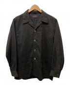 BEAMS PLUS(ビームスプラス)の古着「キャンプカラーシャツジャケット」|グレー