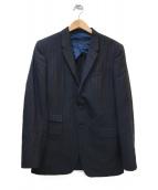 Paul Smith London(ポールスミスロンドン)の古着「2Bストライプスーツ」|ネイビー
