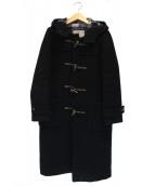 LONDON Tradition(ロンドントラディション)の古着「ロングダッフルコート」|ブラック