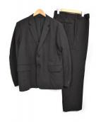 MARGARET HOWELL(マーガレットハウエル)の古着「セットアップスーツ」 ブラック