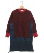 TOGA PULLA(トーガ プルラ)の古着「ボアジャージードレス」