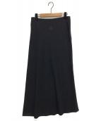 yohji yamamoto+Noir(ヨウジヤマモトプリュスノアール)の古着「マキシスカート」|グレー