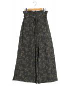 Ameri VINTAGE(アメリビンテージ)の古着「CAROLINE HIGH WAIST PANTS」 グリーン