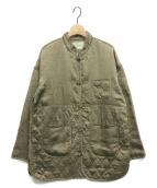 TODAYFUL(トゥデイフル)の古着「キルティングチャイナブルゾン」|オリーブ