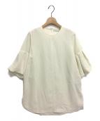 CELFORD(セルフォード)の古着「バルーンスリーブブラウス」|アイボリー