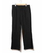 BLACK COMME des GARCONS(ブラックコムデギャルソン)の古着「ポリパンツ」|ブラック