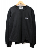 CDG(シーディージー)の古着「ロングスリーブカットソー」 ブラック